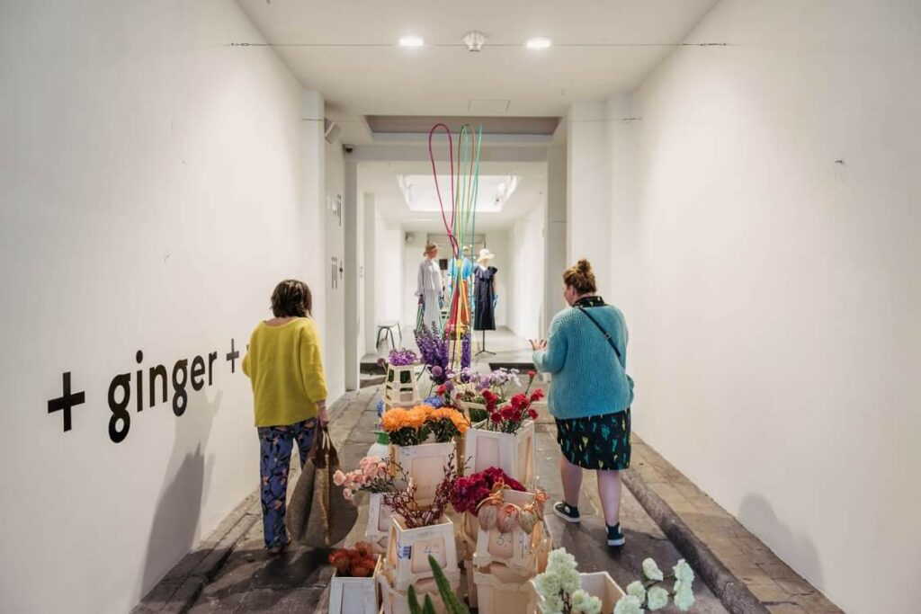Wilder curated flower market at Fred+Ginger Labo, Antwerp