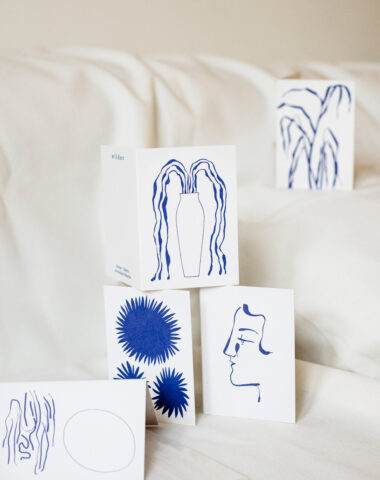 Stationery at Wilder Antwerp - set of mini cards