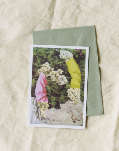 Sustainable stationery with a floral touch by Wilder Antwerp - single postcard
