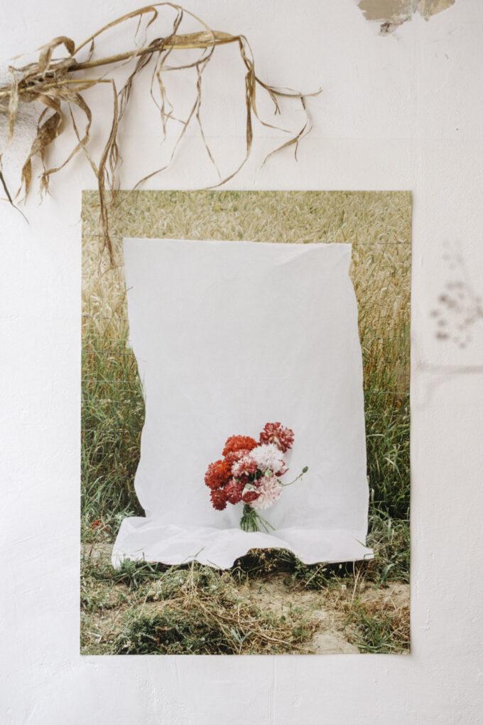 Wilder Objects poppy poster