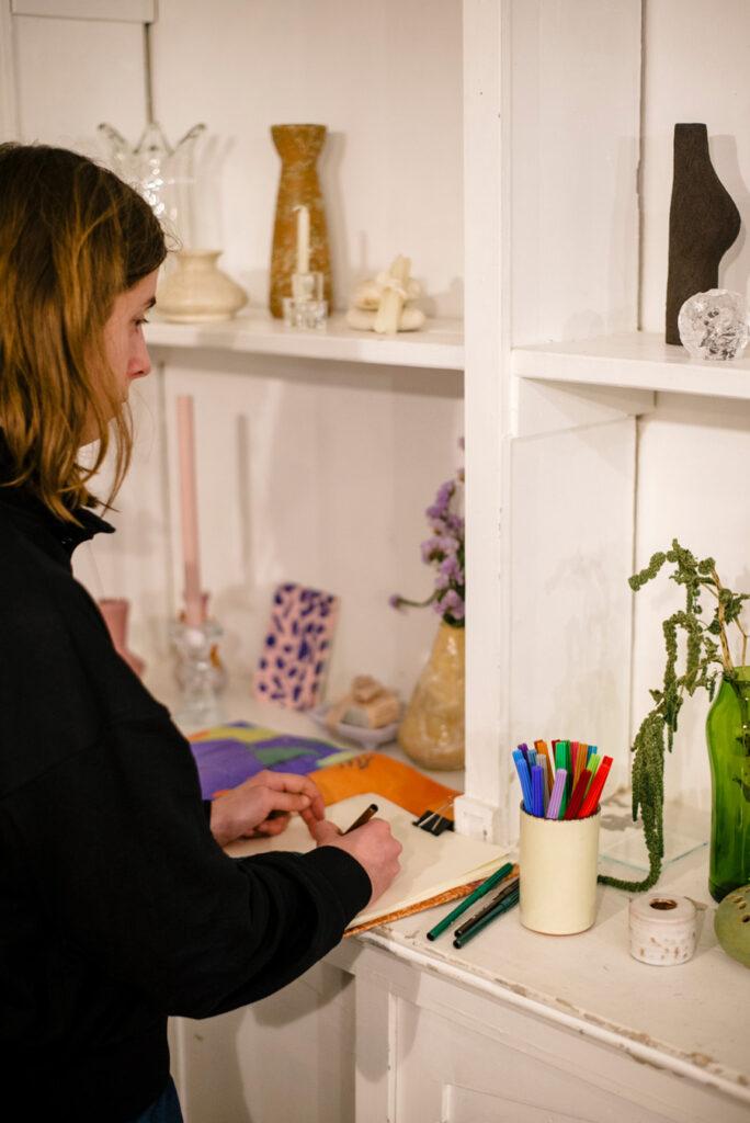 Still life drawing workshop with illustrator Ephameron at Wilder