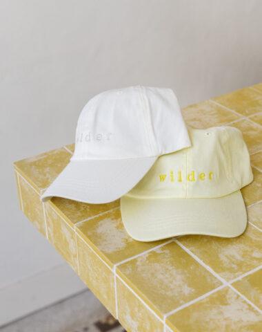 Wilder summer cap with embroidered logo
