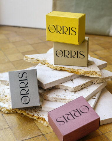 Orris handmade natural soap at Wilder Antwerp