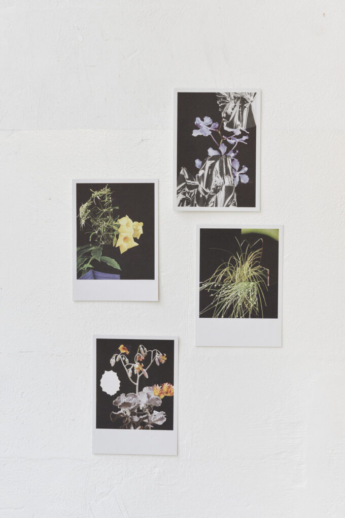 Stationery at Wilder Antwerp - set of 4 single postcards 'collage'