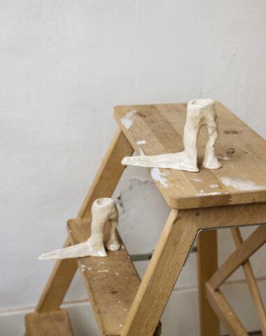 Hot Legs kandelaars door Laura Welker bij Wilder Antwerpen