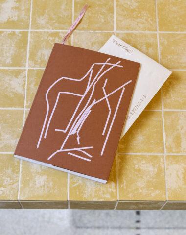 'Dear Clay', artist book about multidisciplinary artist Stephanie Baechler at Wilder Antwerp