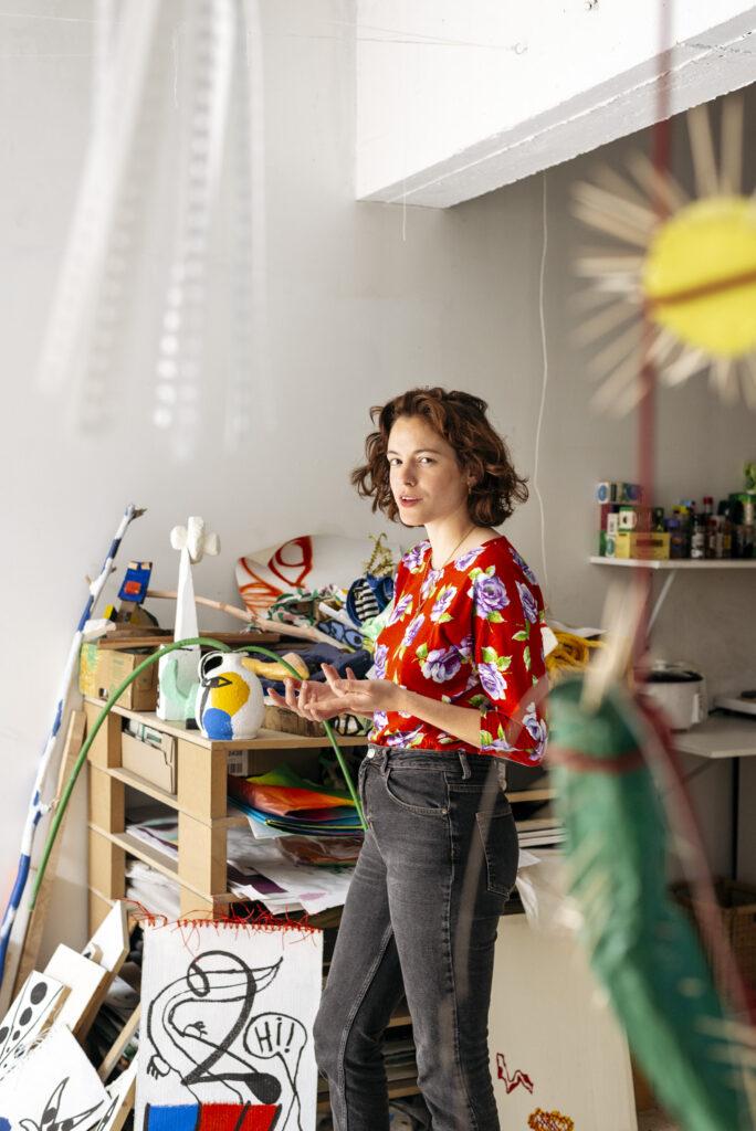 Fleur De Roeck studio by Wilder Antwerp