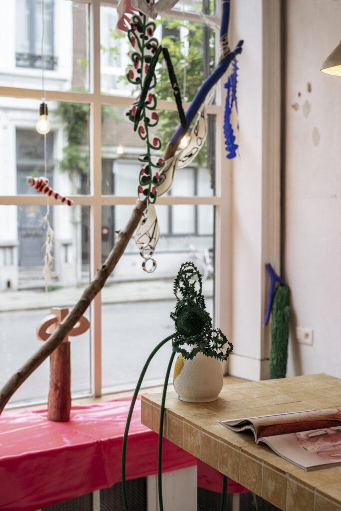 Fleur De Roeck art exhibition at Wilder Antwerp