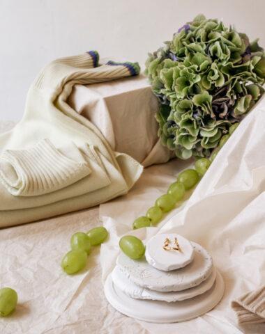 Maddalena Annunziata knitwear and Viktoria Von Malottki jewelry at Wilder flower shop