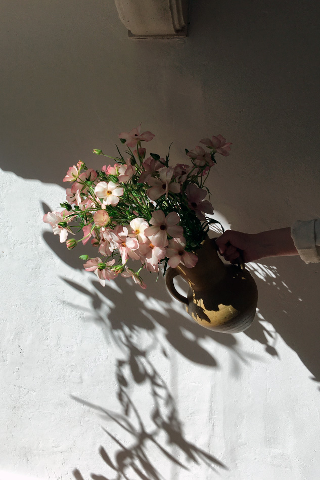 Fresh mono bouquet with seasonal flowers, Friday delivery by Wilder Antwerp