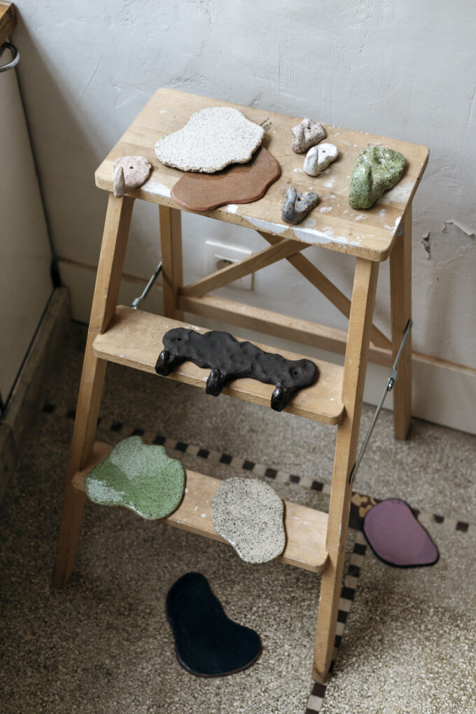 Clay Club collection, ceramic design by Sigrid Volders at Wilder Antwerp