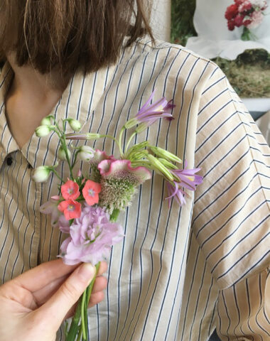 Make your own flower corsage with Wilder at the Borger Nocturne on Friday October 22