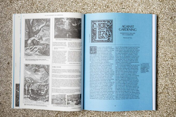 Books at Wilder - On The Necessity of Gardening. An ABC of Art, Botany and Cultivation